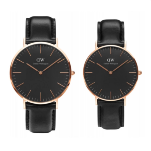 Daniel Wellington Classic Black Sheffield Rose Gold 36mm , 40mm