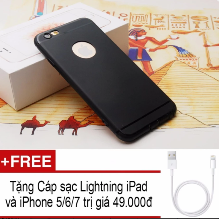 Ốp lưng dẻo giả iPhone 7 cho iPhone 5/5S/5SE